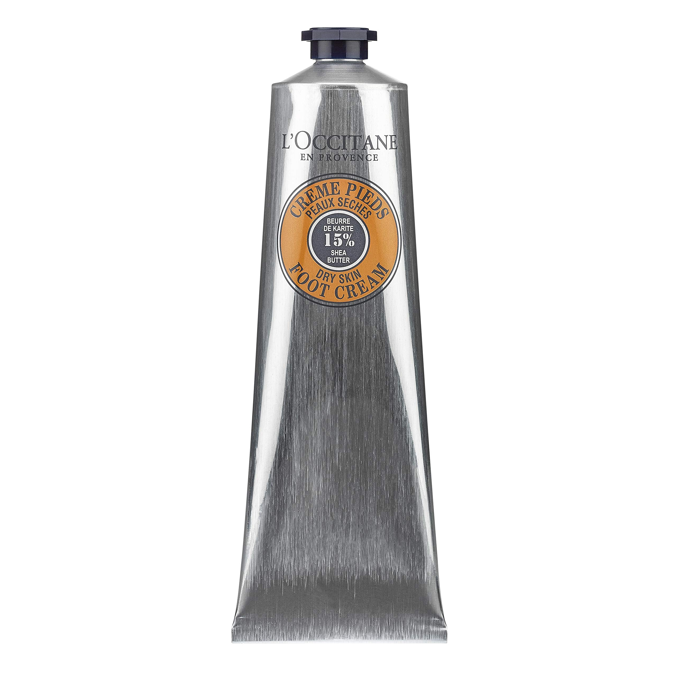 L'Occitane 15% Shea Butter Foot Cream Enriched with Lavender & Arnica, 5.2 oz.