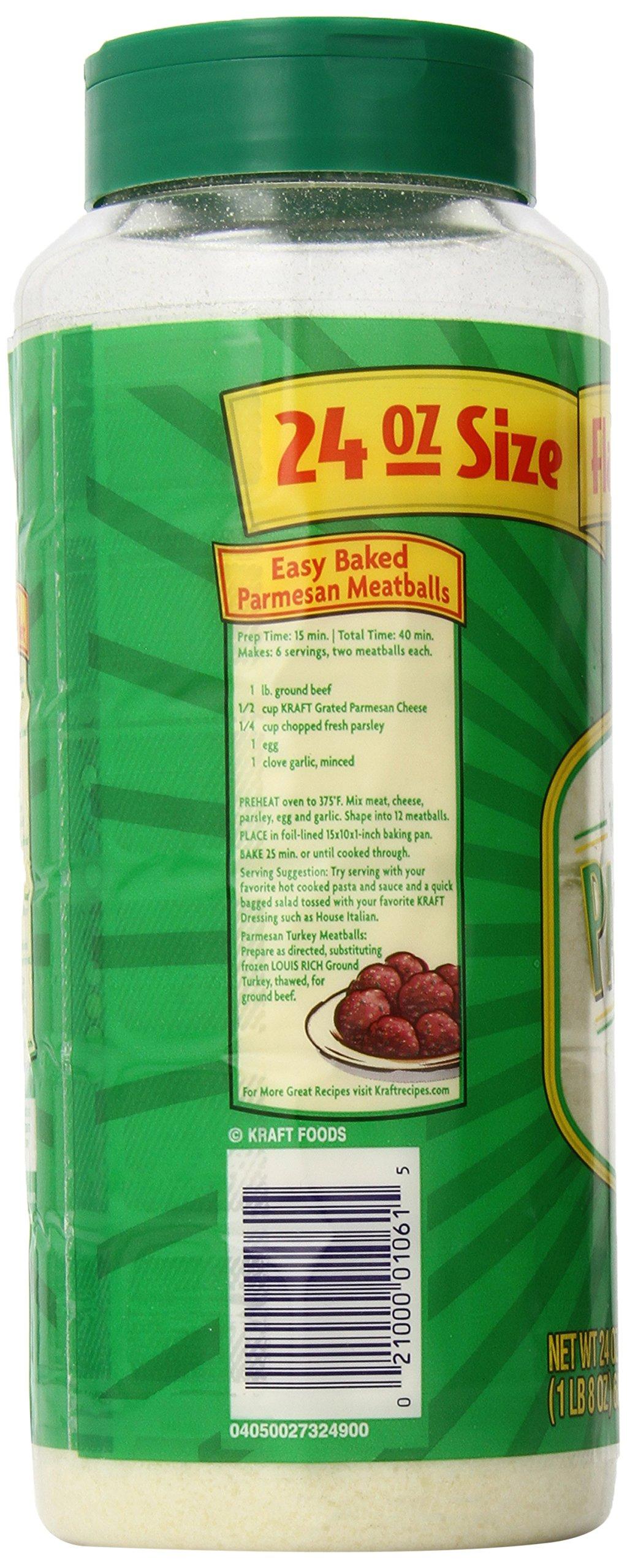 Kraft Parmesan Grated Cheese Shaker (24 oz Bottle) by Kraft Cheese (Image #5)