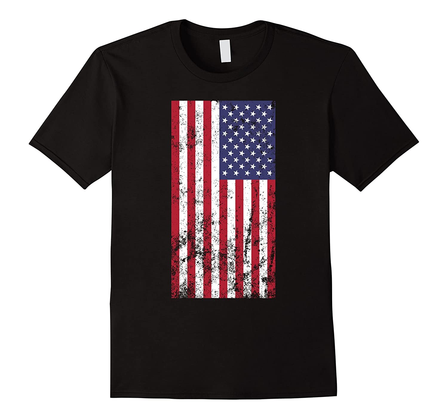 Faded american flag 4th of july t shirt td teedep for Faded color t shirts
