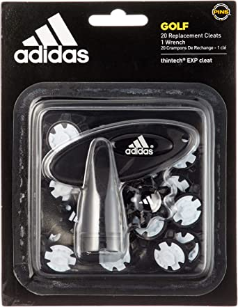 adidas 2017 Golf ThinTech EXP Cleat 20 Pins Pack Golf Shoe Spikes Free Wrench