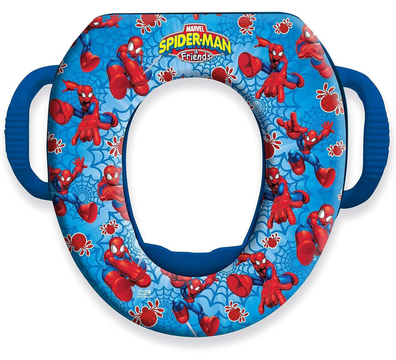 spiderman soft potty seat red blue amazon co uk baby