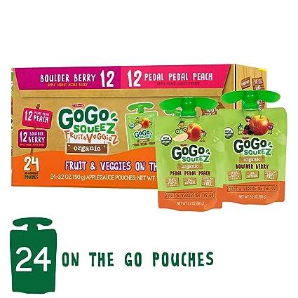 GoGo squeeZ frutas y verduras orgánicas sobre la marcha ...