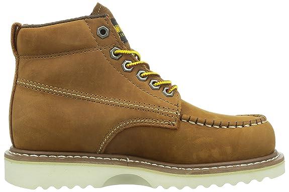 Wolverine Apprentice Wmn Hi Nub tan W09092 - Botas de cuero para mujer: Amazon.es: Zapatos y complementos