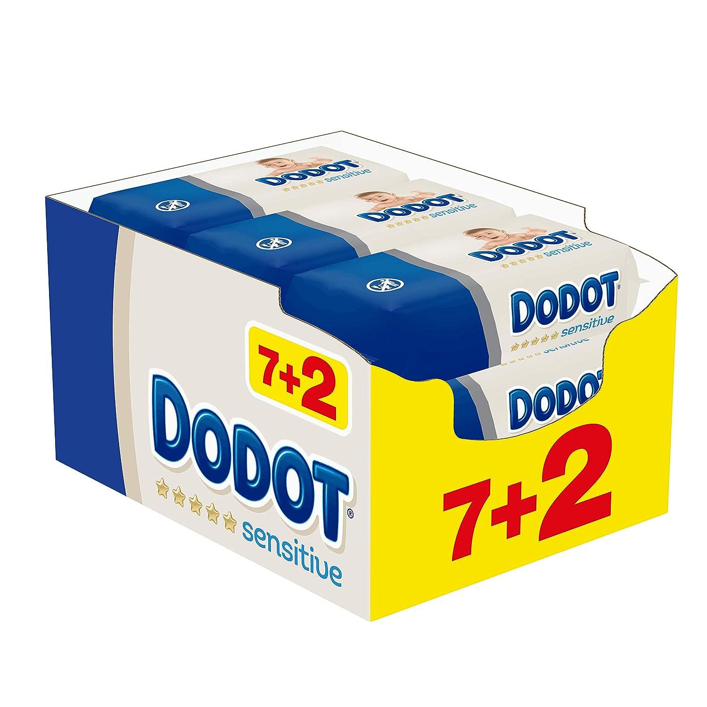 486 toallitas Dodot Sensitive por 13,99€ ¡¡16% de descuento!!