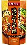 ダイショー 味噌キムチ鍋スープ 750g × 10個