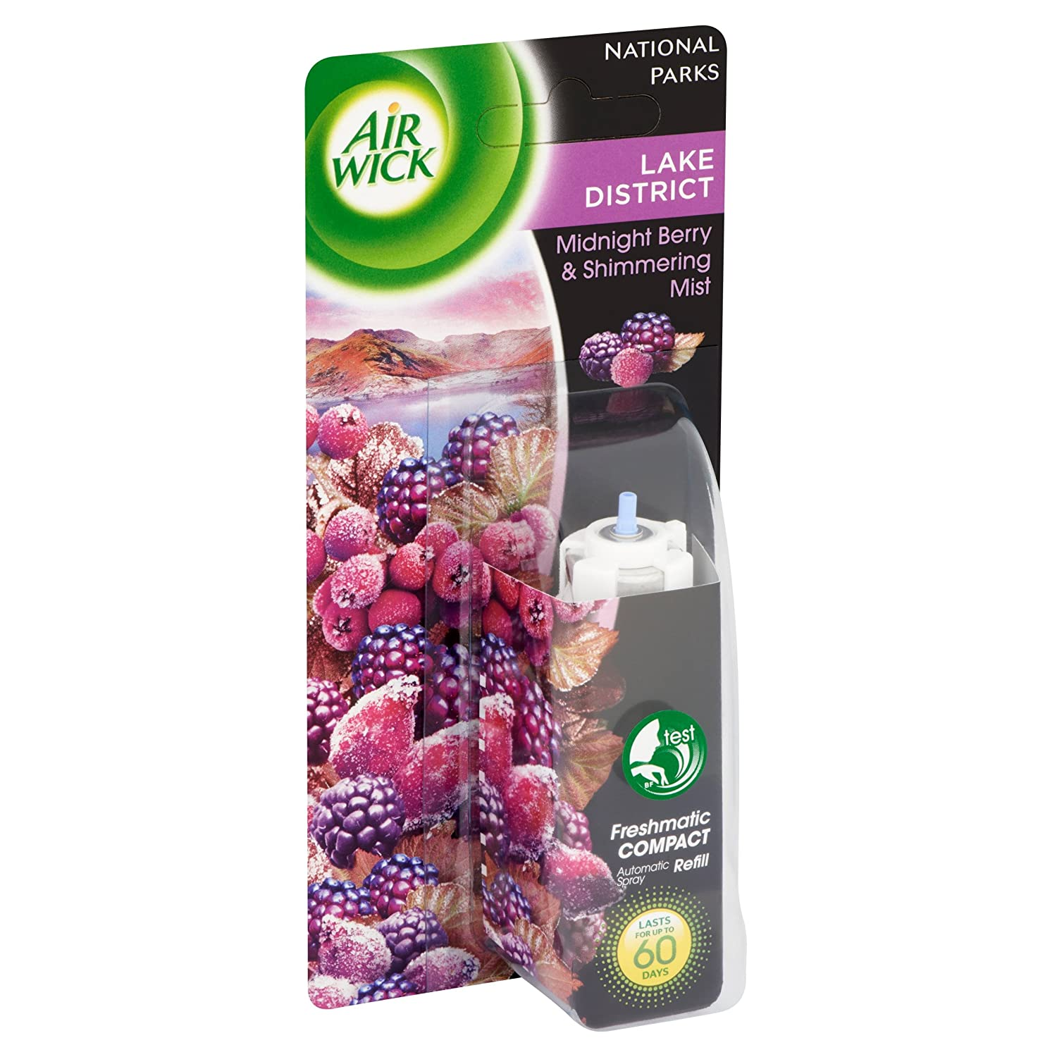 Air Wick Freshmatic Compact Air Freshener Refill Midnight Berry and Shimmering Mist Midnight Berry and Shimmering Mist 24ml (Pack of 3)