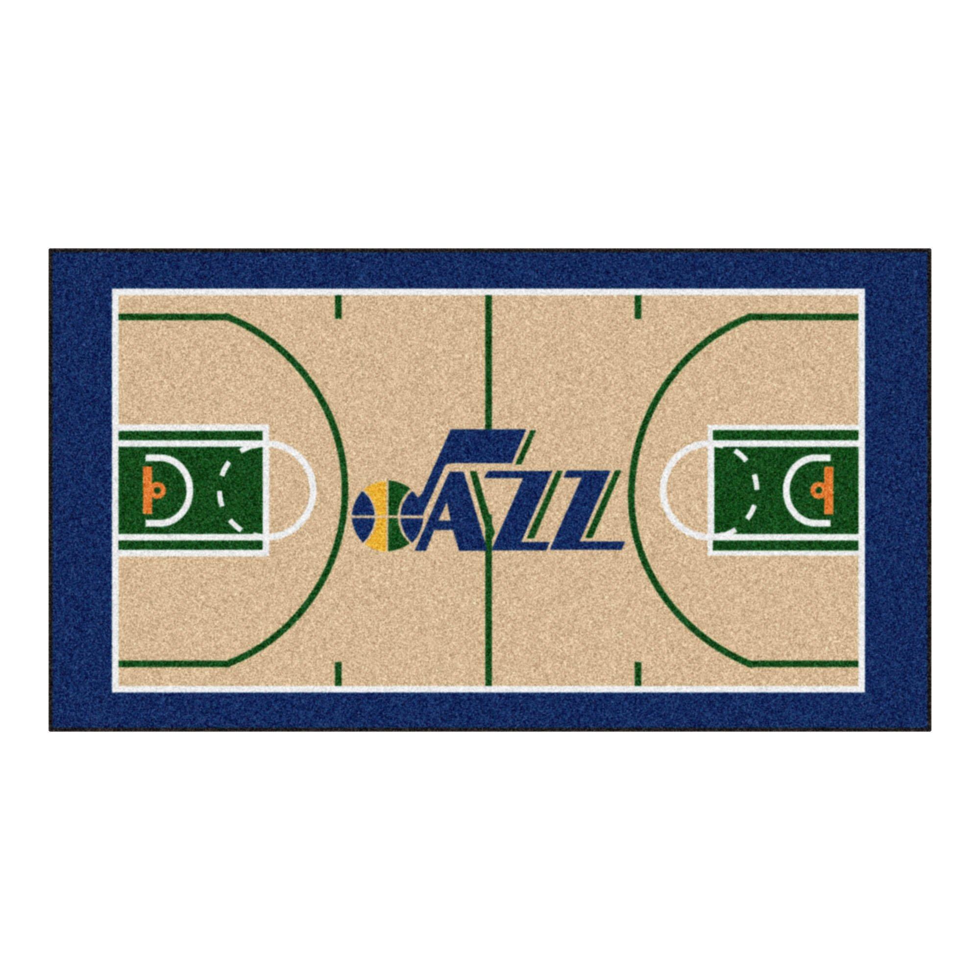 FANMATS NBA Utah Jazz Nylon Face NBA Court Runner-Small