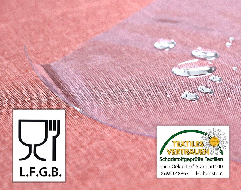 Schutz Tischdecke Transparent ( ca. 0,1mm stark) PVC PVC PVC Folie LFGB Lebensmittelecht - abwaschbare Tischdecke nach Wunschmaß 3000cm x 140cm (ganze Rolle) B072FNZHBB Tischlufer 45e1ce