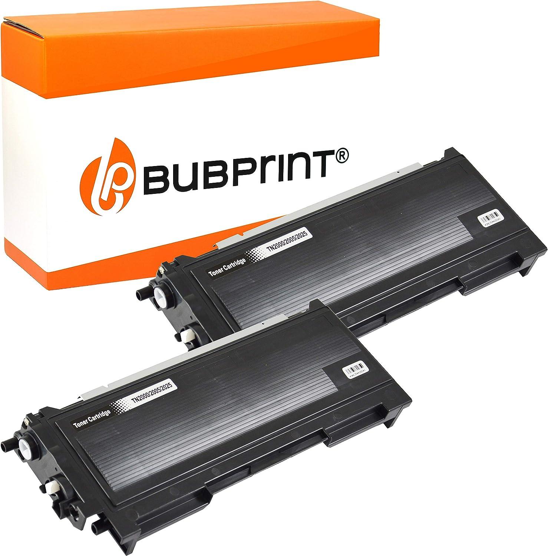 Bubprint 2 Toner Kompatibel Für Brother Tn 2005 Tn 2005 Tn2005 Für Hl 2035 Hl 2035r Hl 2037 3500 Seiten Schwarz Bürobedarf Schreibwaren