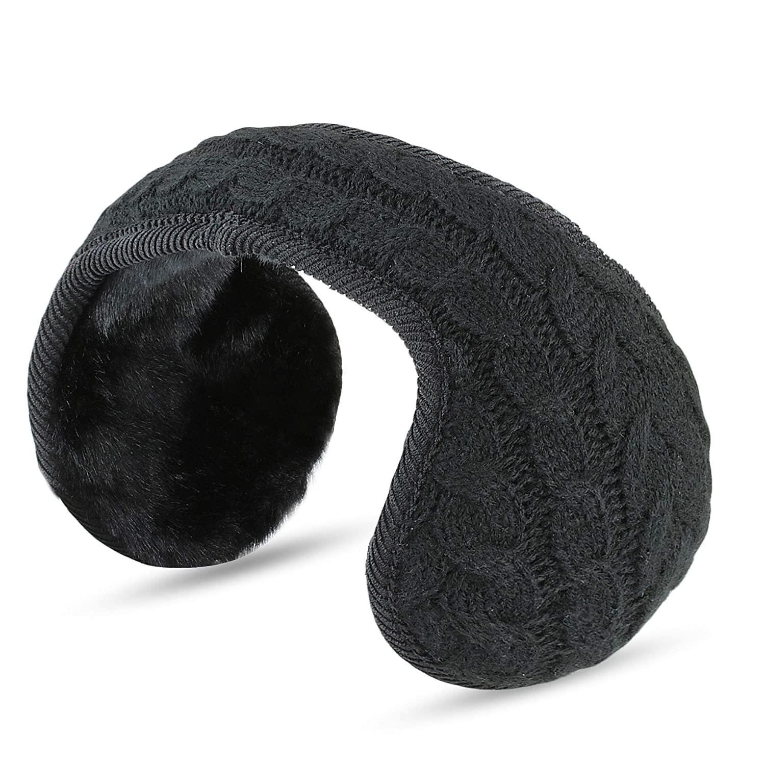 Ear Warmers For Men & Women: Adjustable Headband Warm Ear Muffs: Super Soft Winter Earmuffs