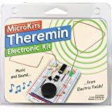 MicroKits Theremin Electronics Kit   Educational Electronic Music STEAM/STEM Kits for Kids or Adults   No Tools Needed…