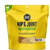 BIXBI Hip & Joint Dog Jerky Treats, Chicken, 15 Ounce