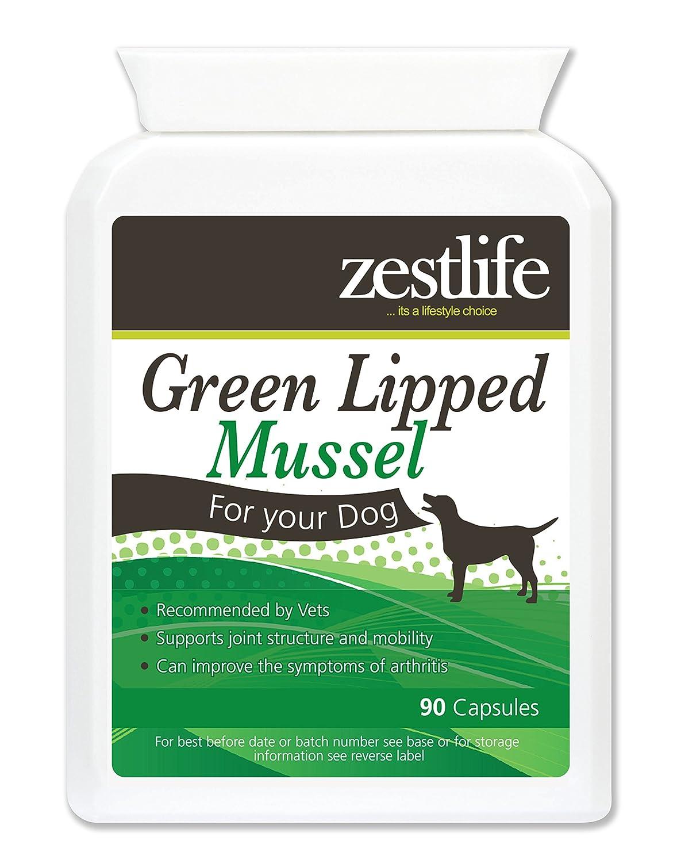 Zestlife Green Lipped moules pour chiens haute résistance 90 capsules ZL6021