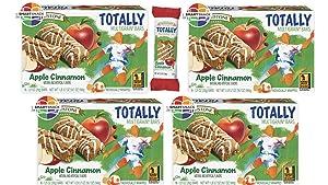Fieldstone Bakery Whole Grain Totally Apple Cinnamon Bars, 4 Boxes, 64 Individually Wrapped Bars