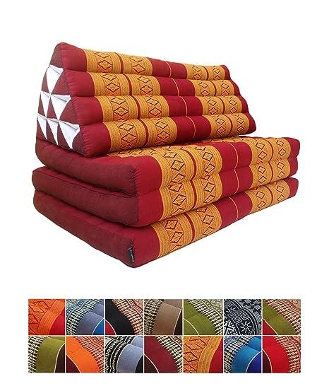 Rollbare Thai Matte 200x80 Rollmatte Kapok Thaikissen Liege Massage Matratze