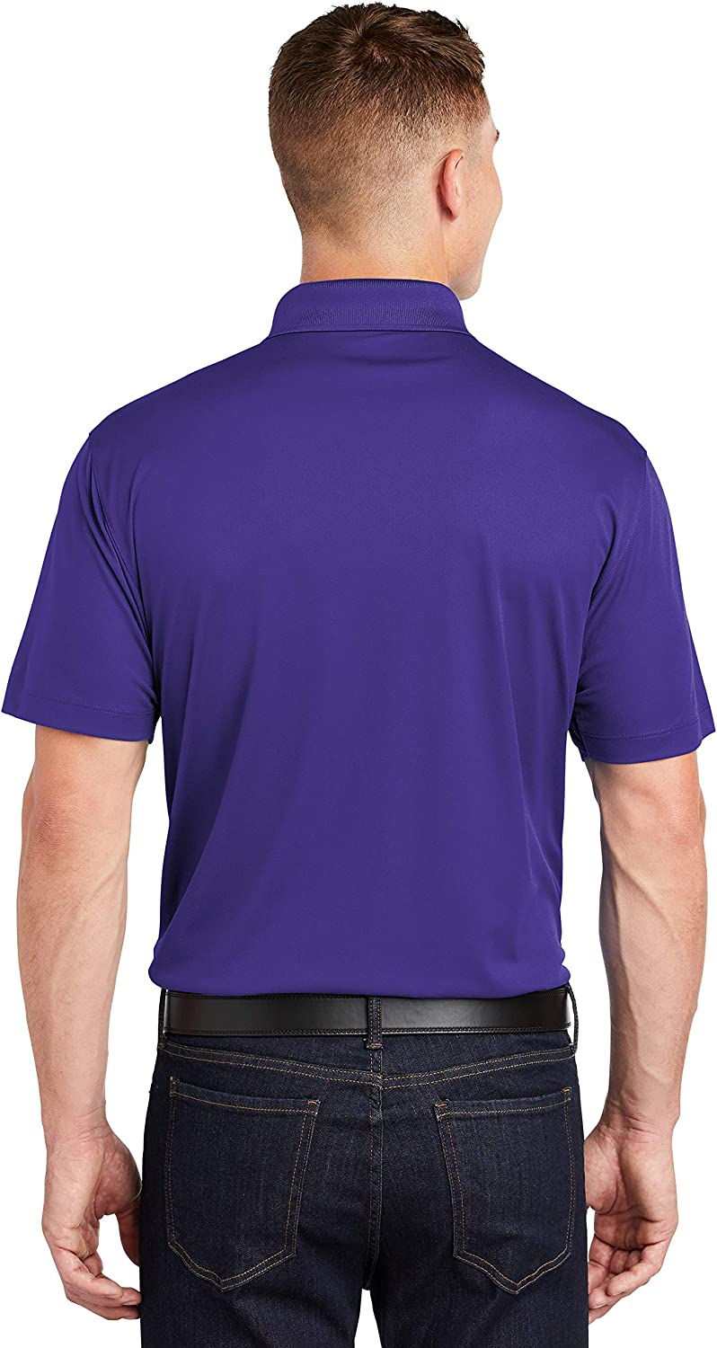 Custom Embroidered Moisture Wicking Performance Polo Embroidery Collar Shirts