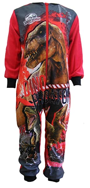 Jurassic World - Pijama de una pieza - para niño rojo rojo