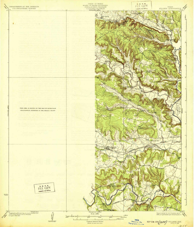 Amazon Com Yellowmaps Killeen Tx Topo Map 1 62500 Scale 15 X