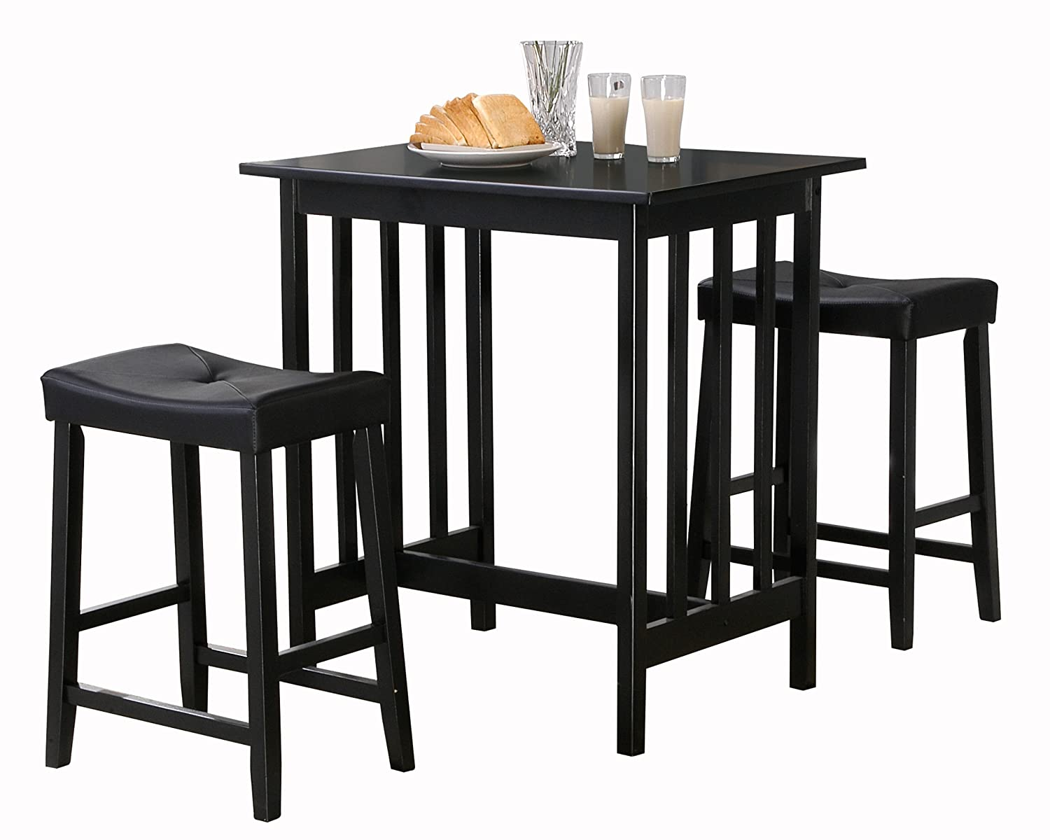 Kitchen table and stools stunning kitchen tables and chairs for the modern home Home bar furniture amazon