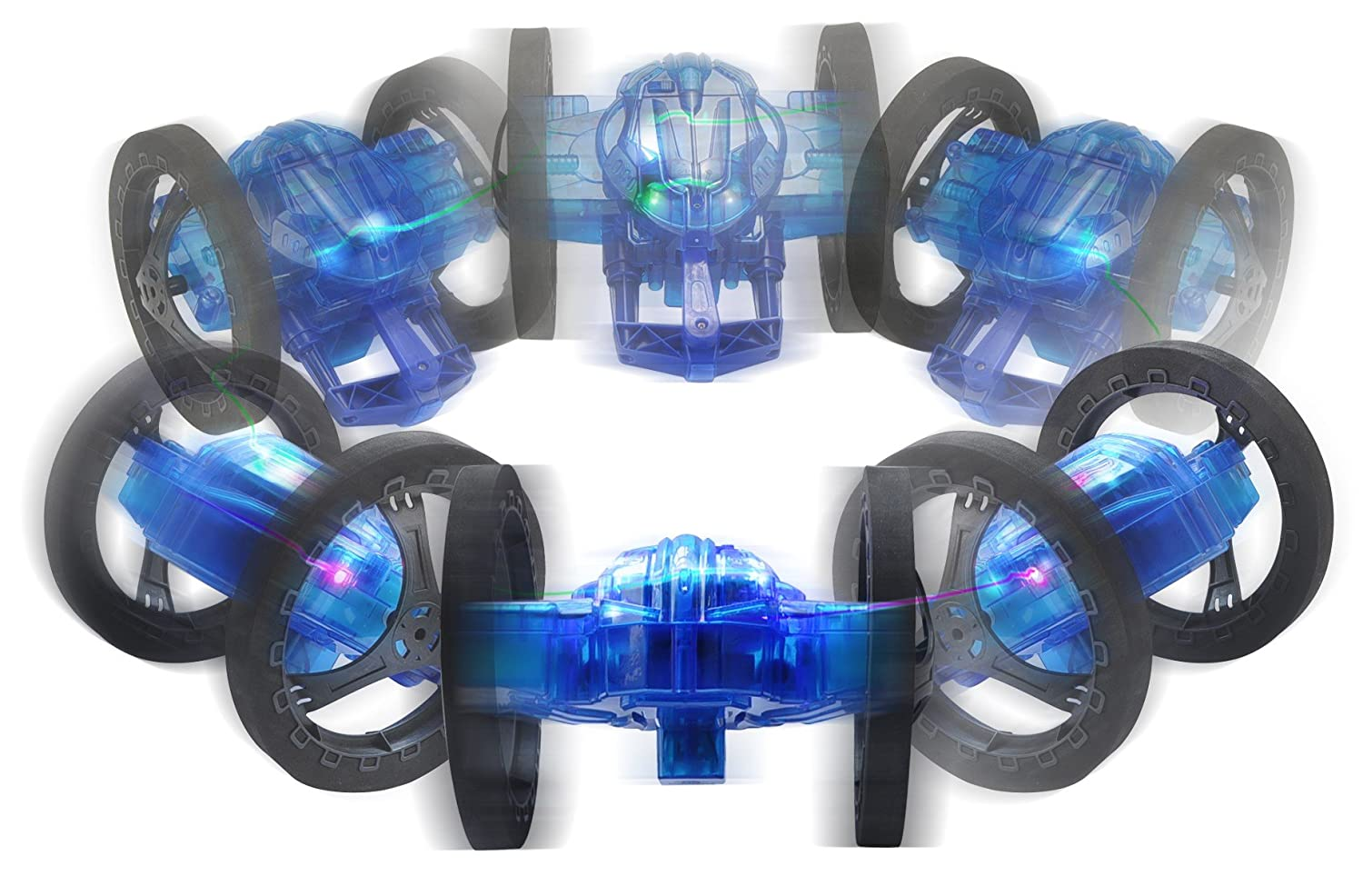 Amazon.com: Mindscope Turbo Twister Catapult Jumping Remote Control RC Light Up LED Stunt Action Vehicle BLUE (49 Mhz): Toys & Games