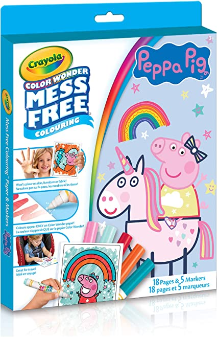Amazon.com: Crayola - Color Wonder Kit Peppa Pig: Toys & Games