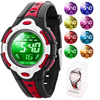 Independent High Quality Boys Girls Digital Watches Led Red Light Student Sports Bracelet Watch Giving Children Gift Of Colorful Life Watches