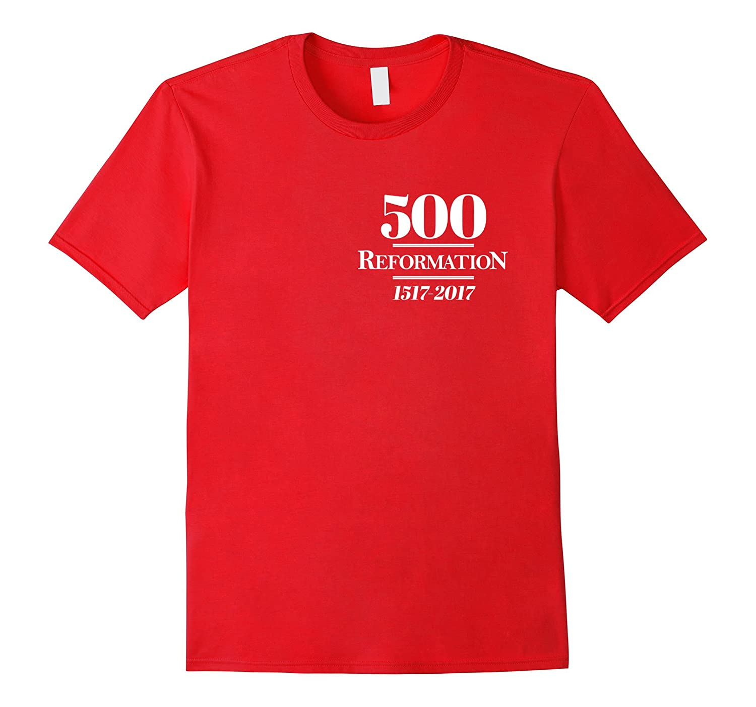 Reformation 500 Martin Luther T-Shirt with Insult-Rose