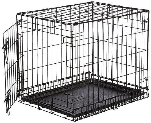 106 opinioni per AmazonBasics- Gabbia in metallo richiudibile, per cani, Portiera Singola-