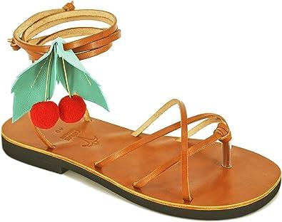 Pom Pom Sandals, Lace Up Sandals