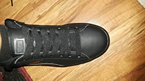 Great looking classic puma shoes, but had awful shoe laces! :(