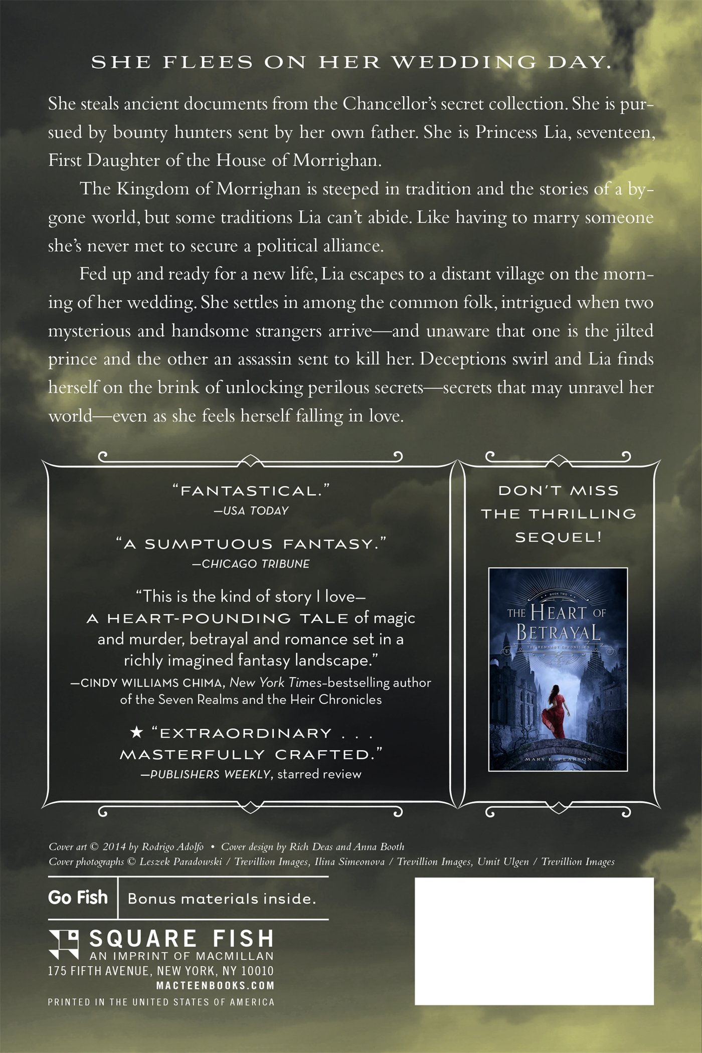Amazon: The Kiss Of Deception (the Remnant Chronicles) (9781250063151):  Mary E Pearson: Books