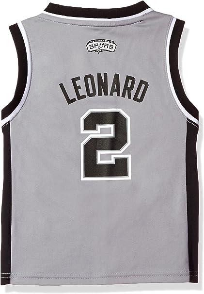 Amazon Com Kawhi Leonard San Antonio Spurs Kids Grey Replica Jersey Small 4 Baby Skin Care Products Clothing