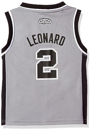 Image Unavailable. Image not available for. Color  Kawhi Leonard San  Antonio Spurs Kids Grey Replica ... 2917d6bd3