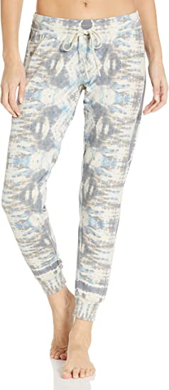PJ Salvage Womens Camo in Color Banded Pant Pajama Bottom