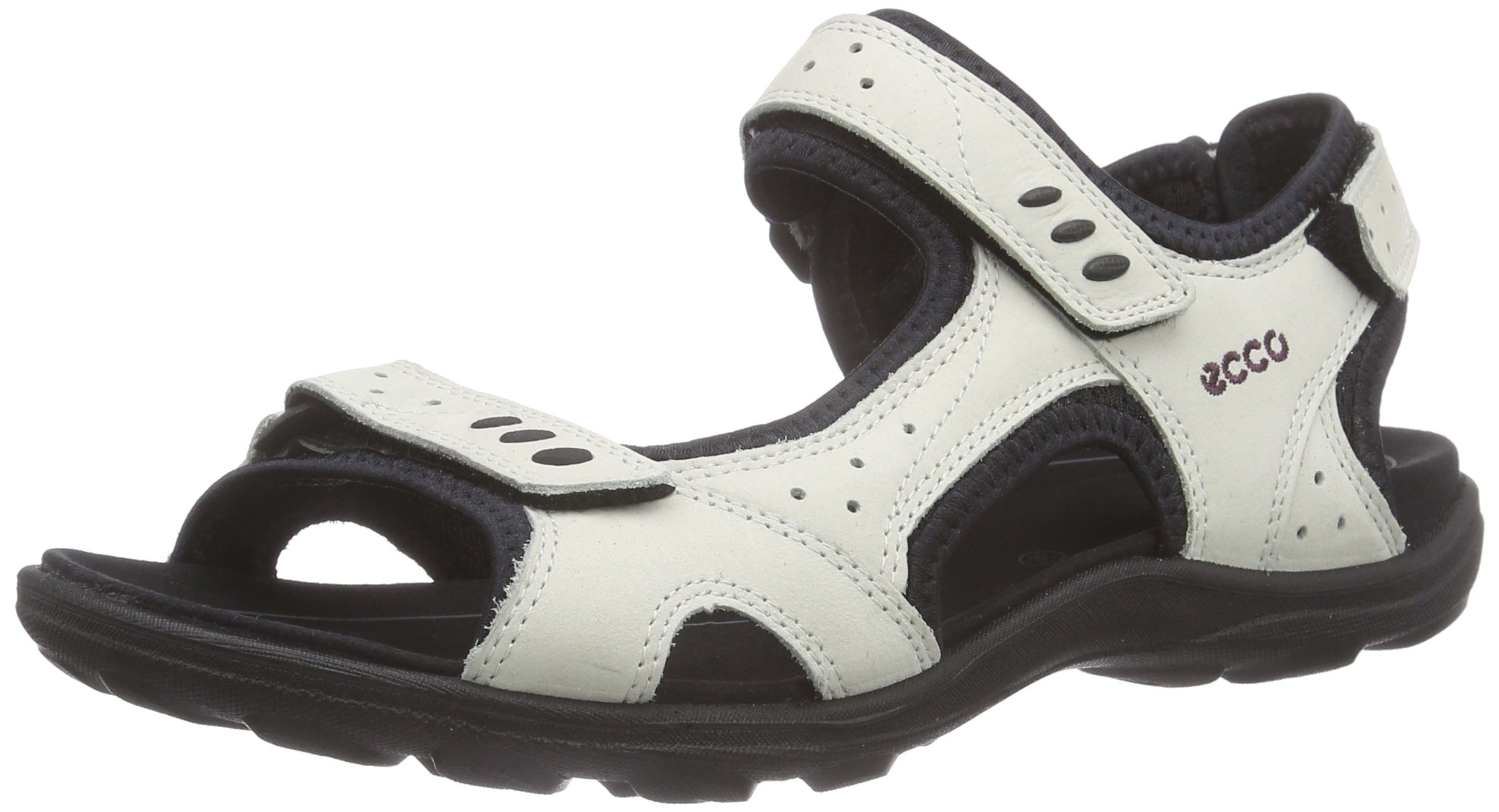 ECCO Women's Kana Sport Sandal, Shadow White, 38 EU/7-7.5 M US