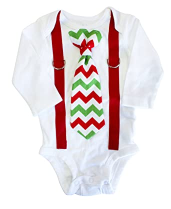 baby boy christmas outfit christmas clothes tie and suspenders nb just bodysuit