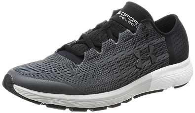 1c63dd7154b Under Armour Men's SpeedFormA Velociti Rhino Gray and Black Running Shoes -  10 UK/India