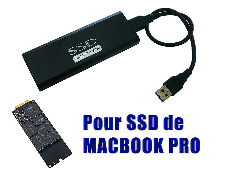 Kalea-Informatique – Caja para SSD Mac Pro 2012 A USB3 (USB 3.0 ...