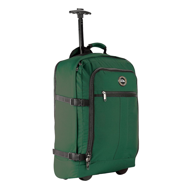 Cabin Max Lyon Flugzugelassenes Handgepäck Rucksack Tasche - 44L Rollengepäck - grun/grau LyonGreen/Grey