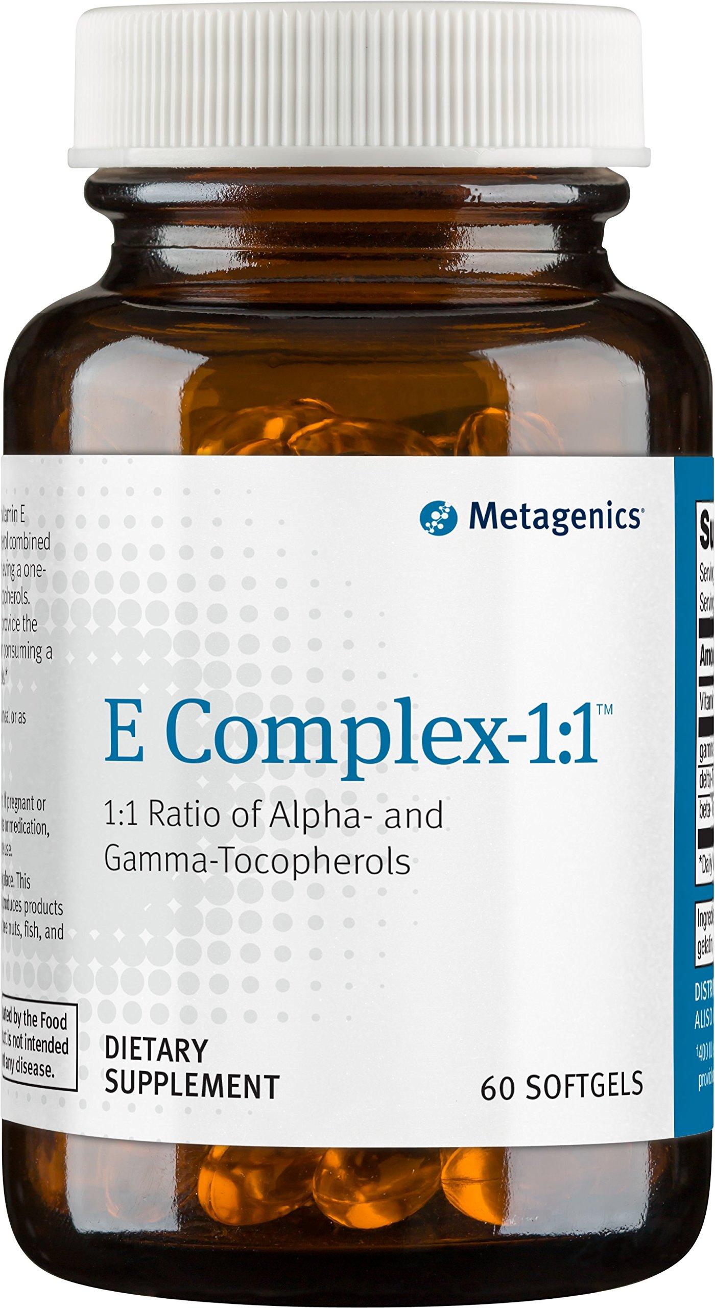 Metagenics - E Complex-1:1, 60 Count