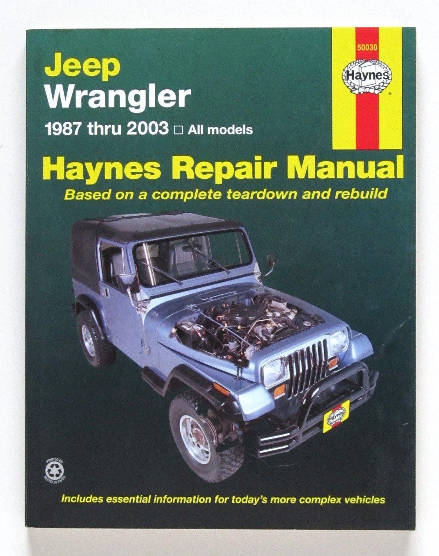 jeep repair diagrams haynes jeep wranglar  87 17  manual  50030  aa 0038345017773  haynes jeep wranglar  87 17  manual