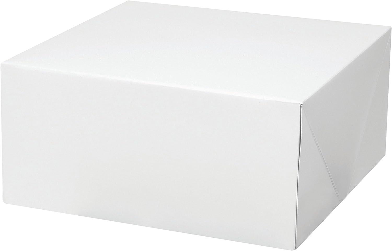 300951 Culpitt Square White Cake Box 15