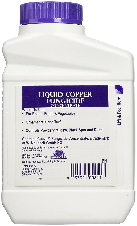 Amazon.com : Bonide 811 Copper 4E Fungicide 16oz (473ML ...