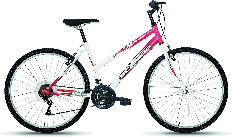 F.lli Schiano Bicicleta de montaña, Mujer, 18 Marchas Multicolor ...