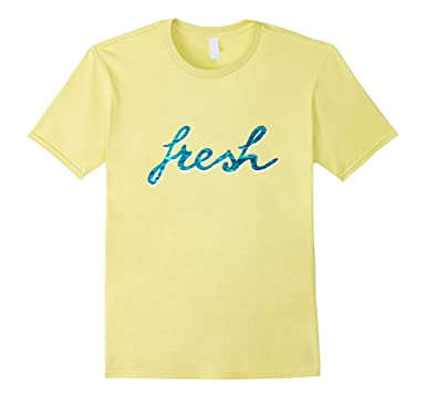 4a7824323 Men's Fresh T-shirt - blue typography cursive word text tshirt 3XL Lemon