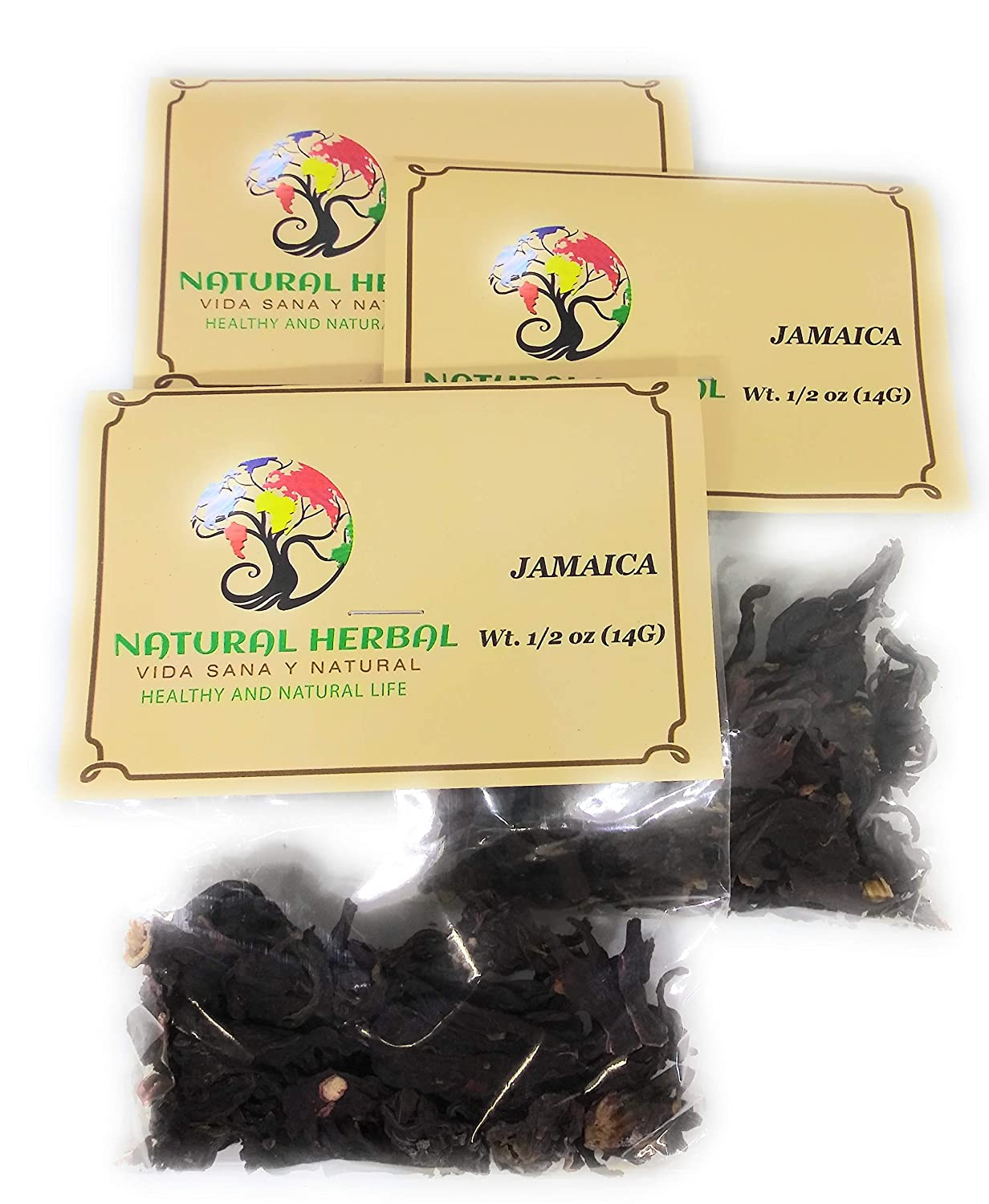 Amazon.com : Jamaica Hierba/Tea (10.6 Grms.) : Grocery & Gourmet Food