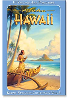 Hawaiian Vintage Boxed Postcards Set Of 10