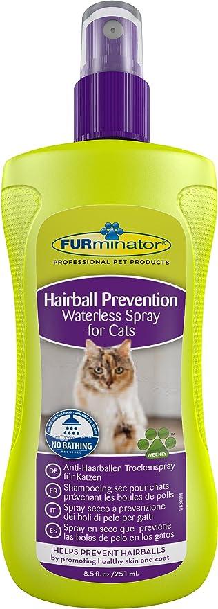 Furminator Spray en seco para prevención de Bolas de Pelo 251 ml ...