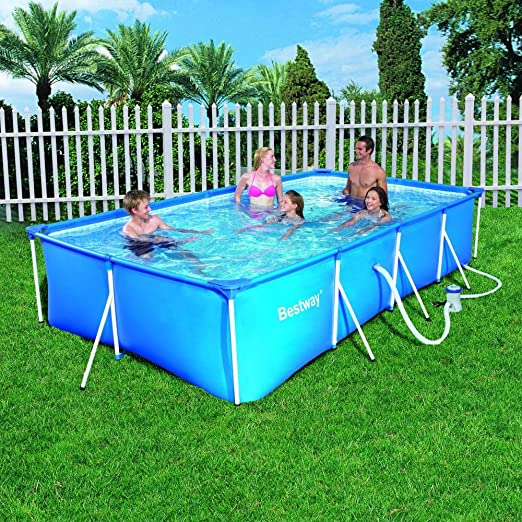 piscine hors sol rectangulaire Haillicourt