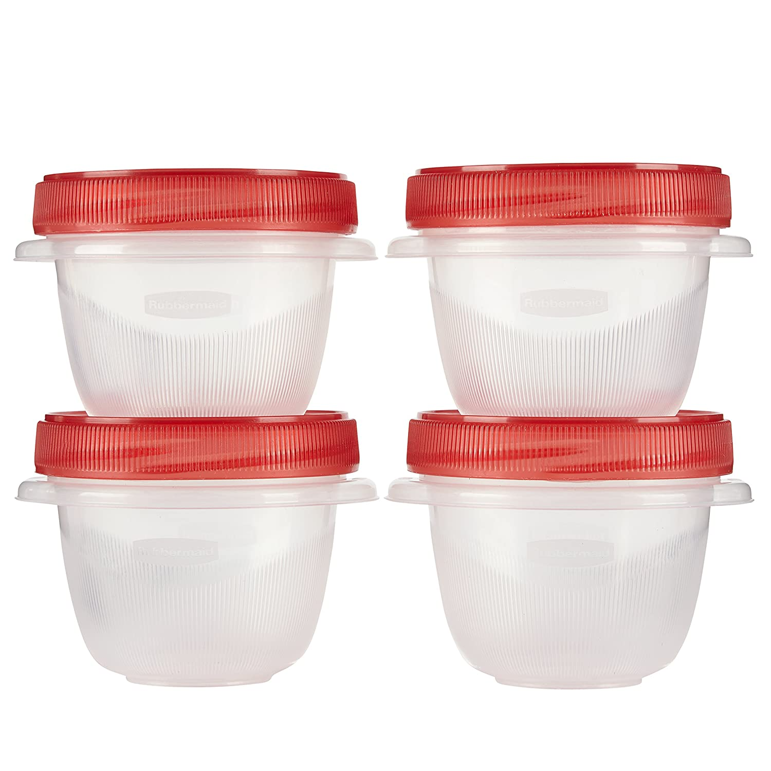 Rubbermaid Takealongs 1 2 Cup Twist And Seal Containers